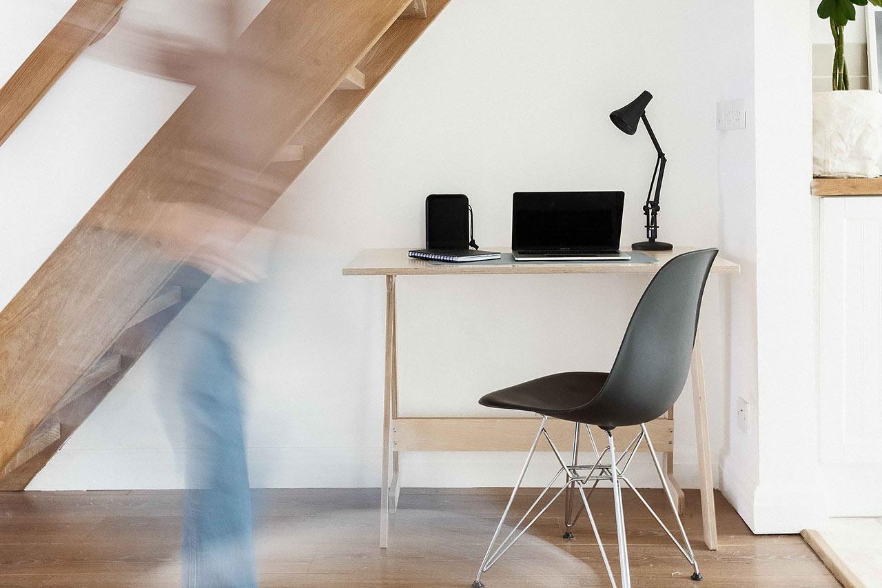 Bewegung im Home Office